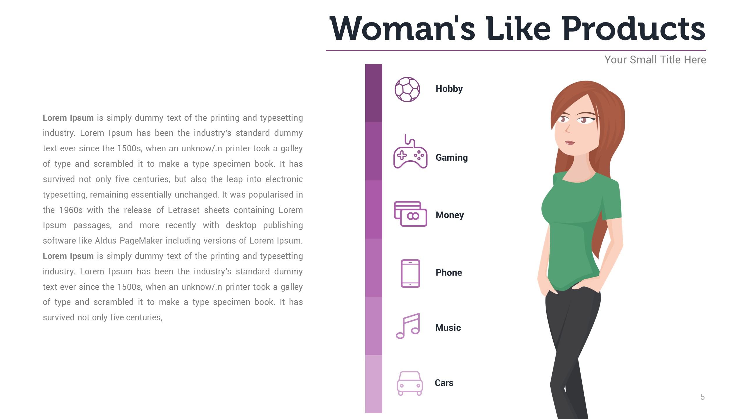 womens like infographic