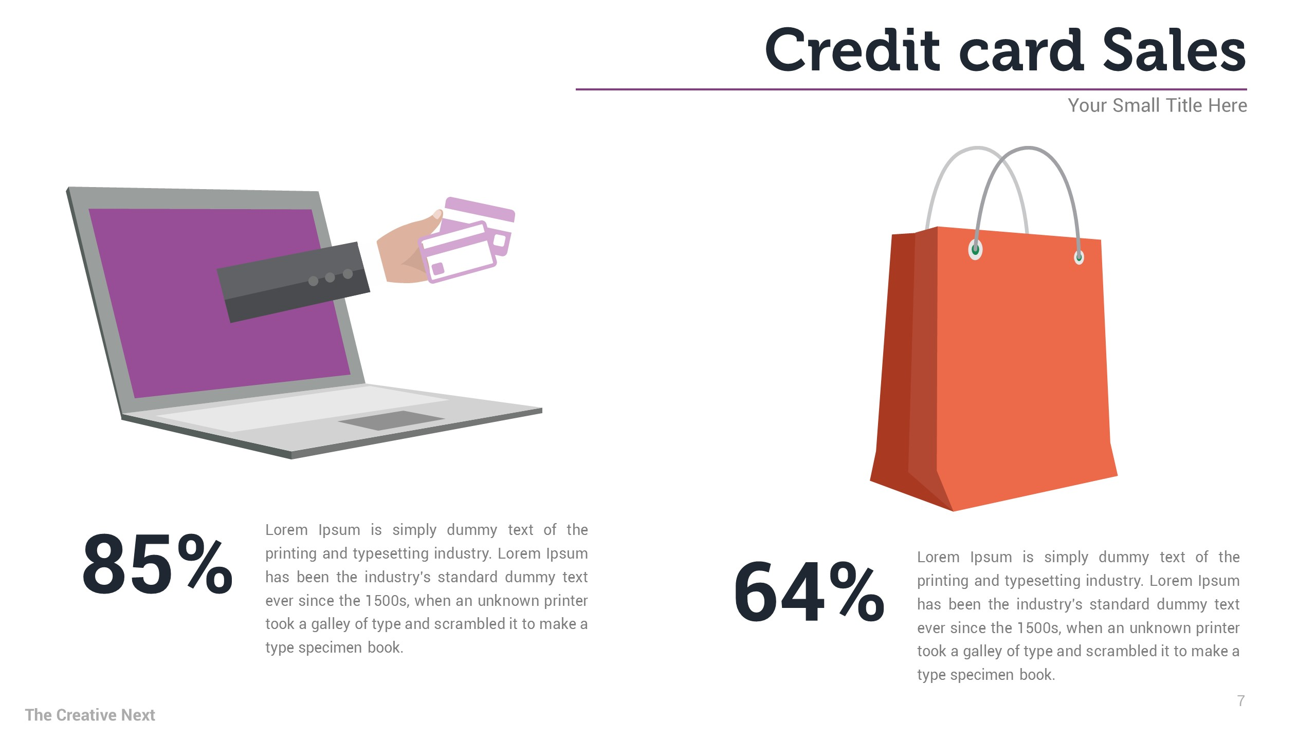 busiess credit card sales report