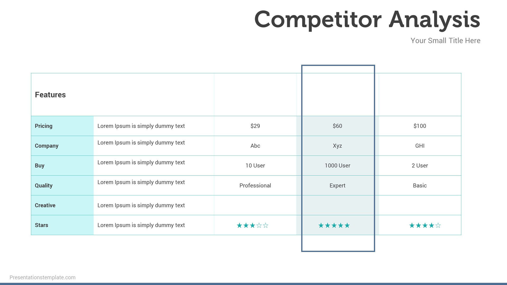 competition infographics