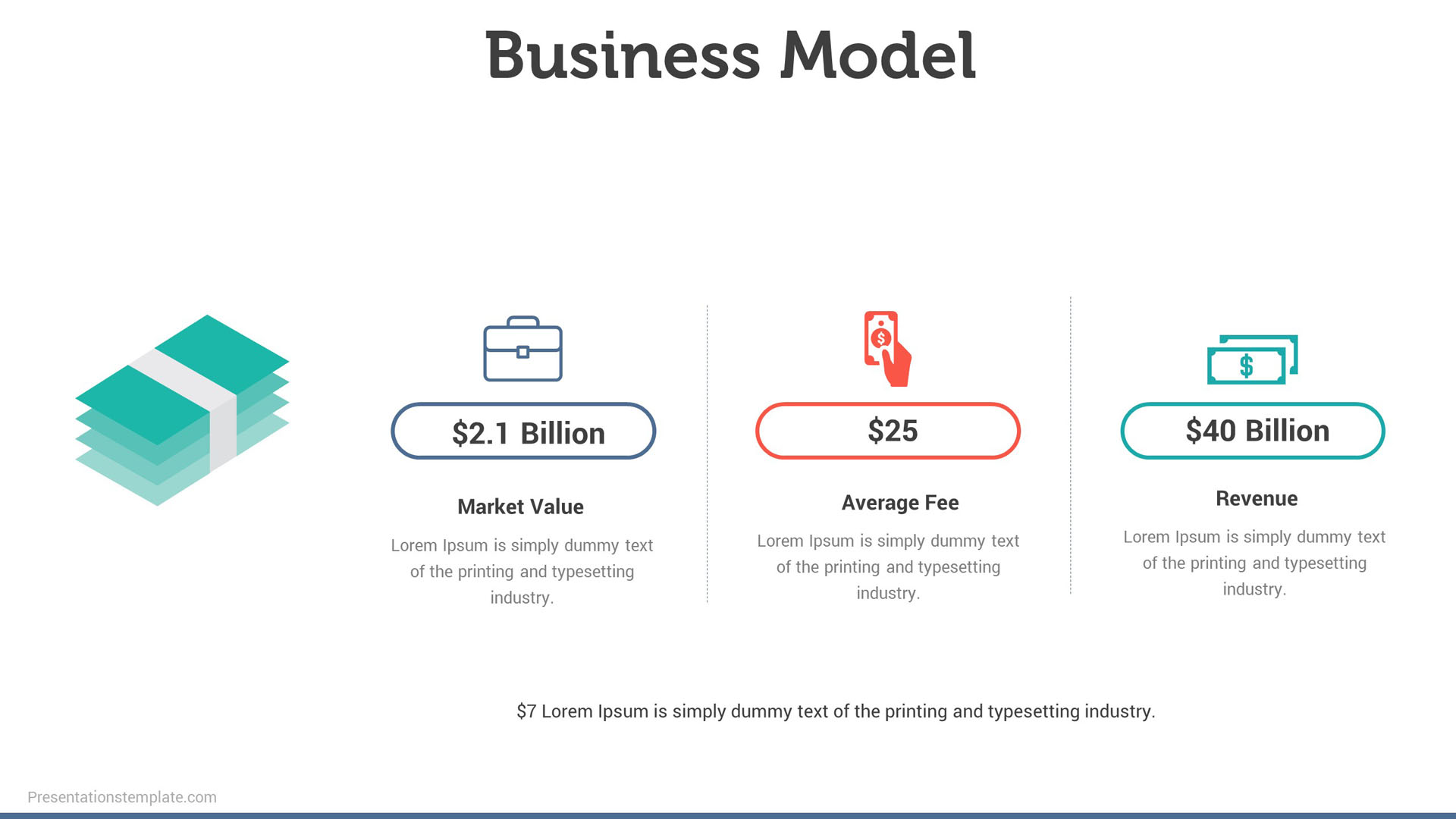 Business Model Powerpoint slides