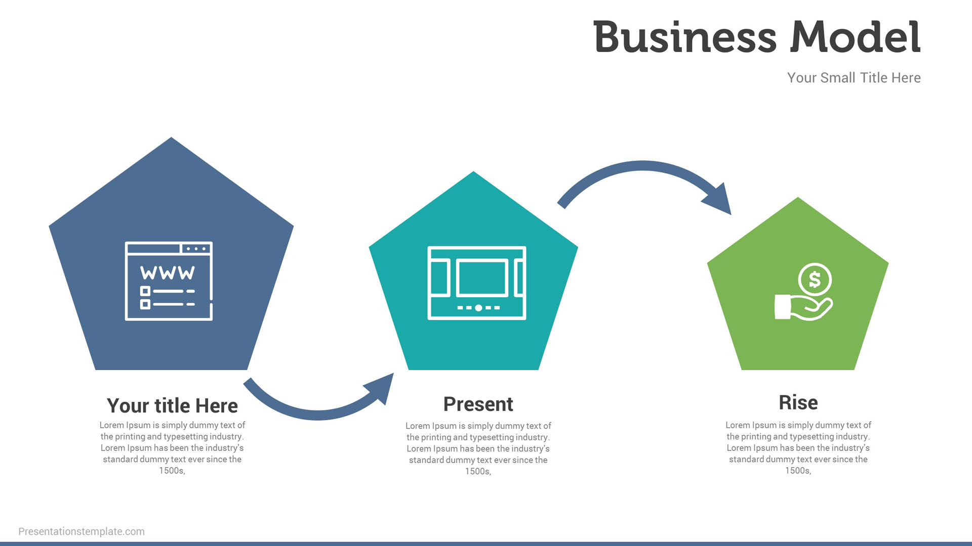 pitch deck business model