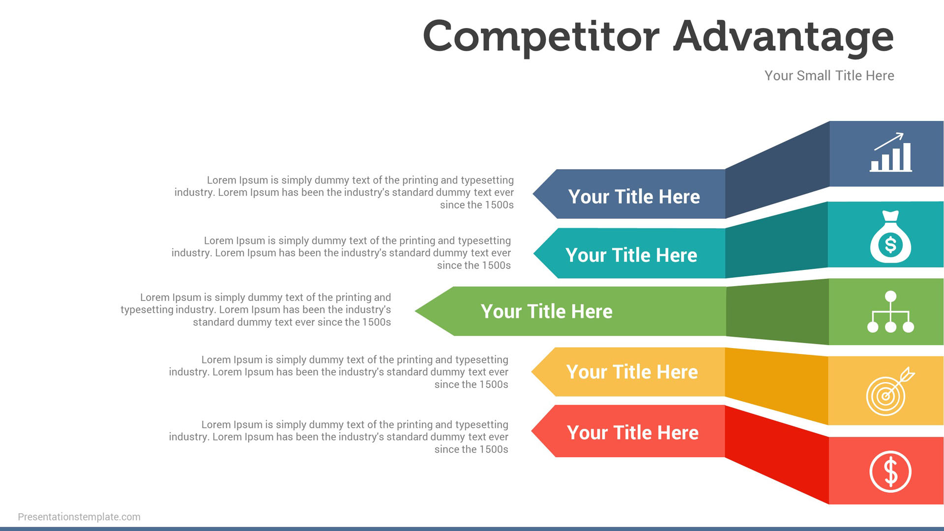 Power point slide templates free presentation templates for Competitor research template