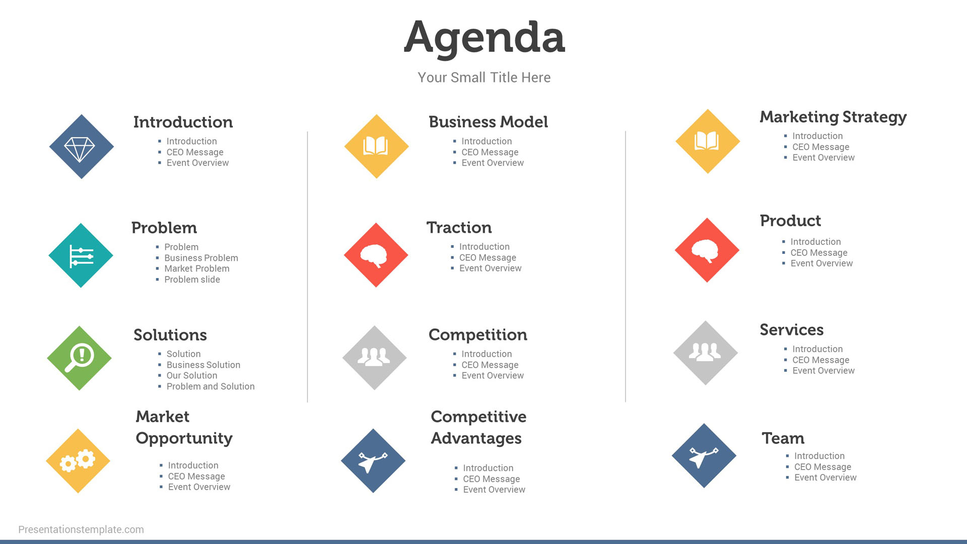 agenda and power point presentation Project kick off meeting ppt template with agenda for presentation download powerpoint slides include plan, timeline, deliverable,team structure and communication for the team.